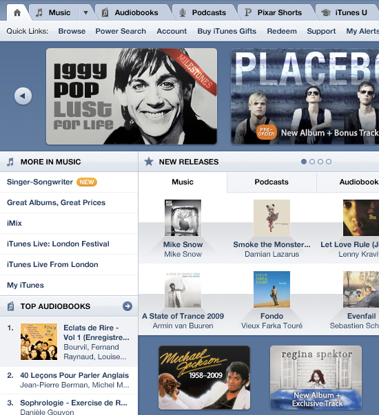 iTunes Store Redesign Thumb